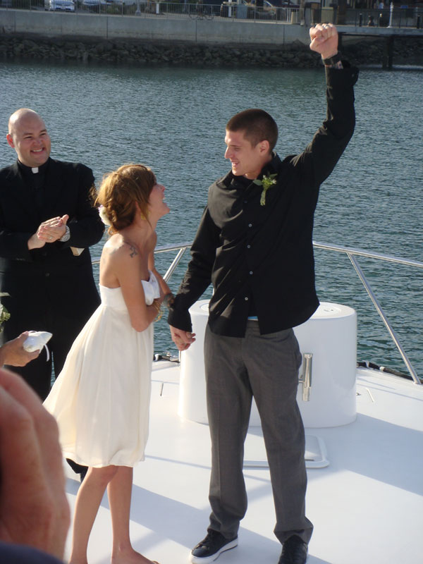 Weddings by the Sea with Officiated By The OC Reverend