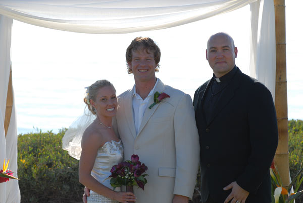 Jason and Kestral Hutchison get married